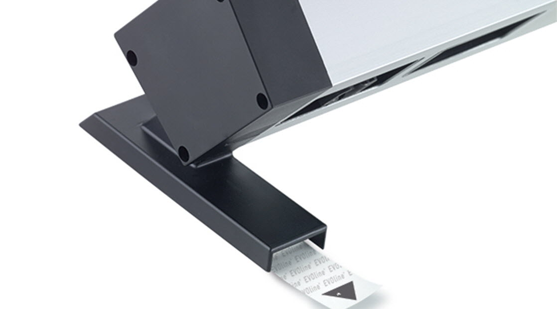EVOline Dock Square with adhesive fixing - EVOlineStore